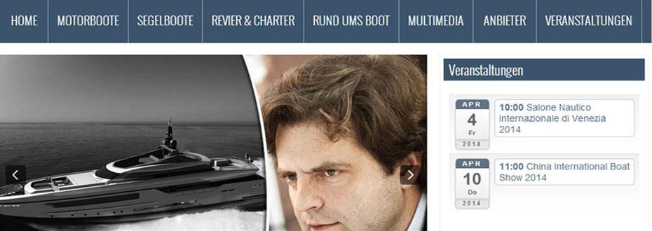 Boot Online: Neues Online Portal von Böck & Partner