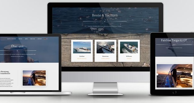 Webdesign & SEO Amadeus Yachting