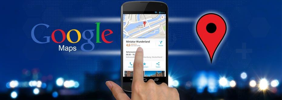 Google Maps & Google Places für Unternehmen (richtig) nutzen