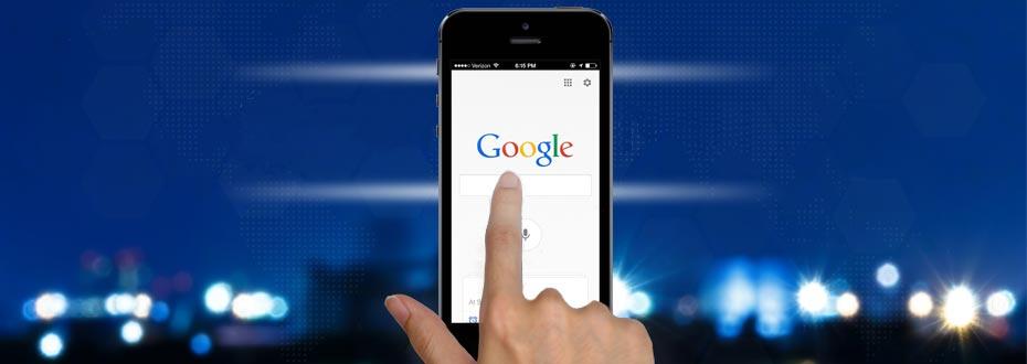 Mobile Website: Mobil wird mehr gesucht als am Computer