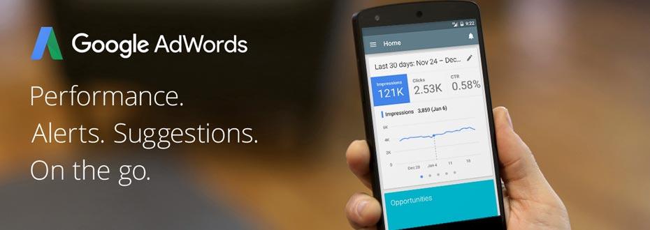 Google AdWords App für iPhone & iPad verfügbar