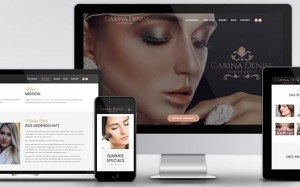 Webdesign & Online Marketing für Makeup Artist