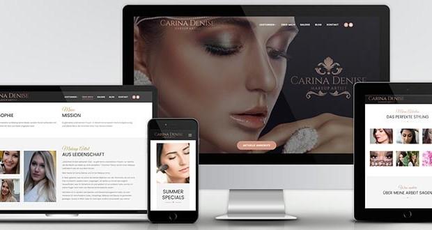 Webdesign & Online Marketing für Makeup Artist