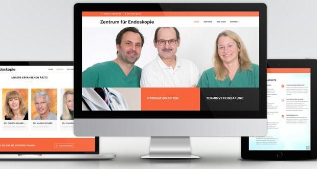 Webdesign Zentrum Endoskopie & Chirurgie