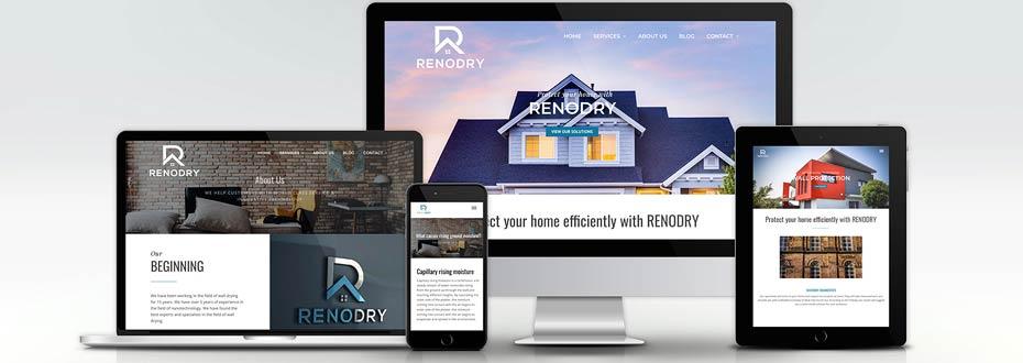 Branding und Online Marketing für RENODRY Gruppe