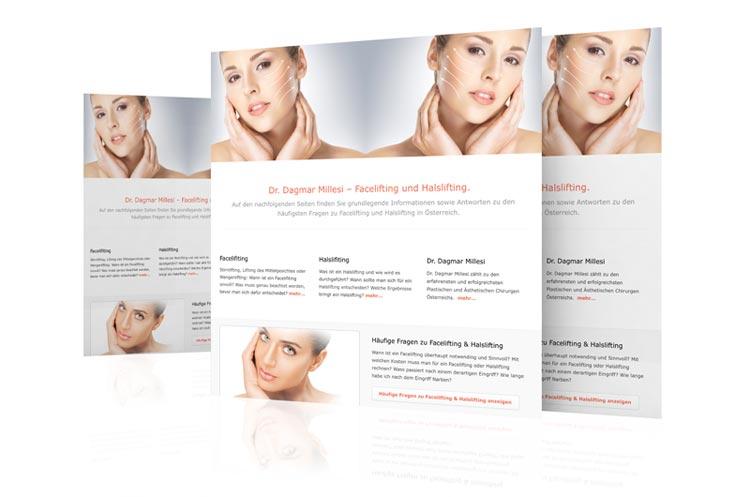 Website facelift.at - Blog Böck & Partner