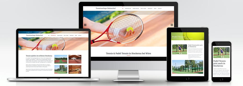 Website Erstellung Tennis Stockerau
